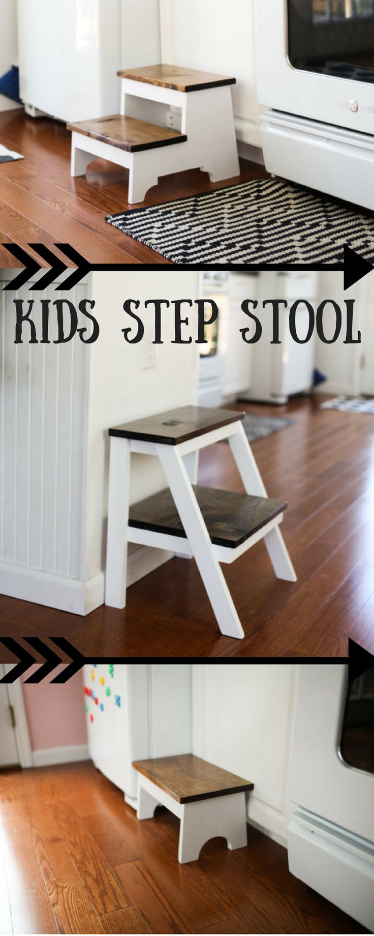 Wooden dollhouse step foot stool wood footstool stepstool furniture -  Keep Your Kids Safe Wooden Step Stool Rustic Style I Could Even
