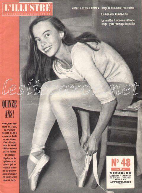 Leslie Caron, great dancer and actress