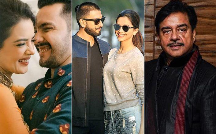 Aditya Narayan Shweta Agarwal Wedding Reception Deepika Padukone Ranveer Singh To Shatrughan Sinha Guest List Out Ranveer Singh Deepika Padukone Bollywood