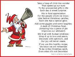 Funny Poem Christmas – Merry Christmas And Happy New Year 2018