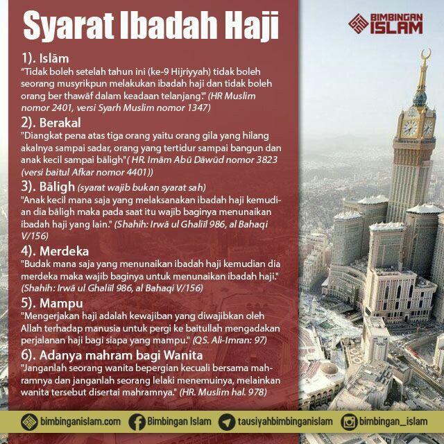 Syarat ibadah haji