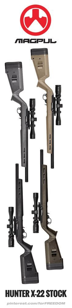 New Magpul HUNTER X-22 STOCK for RUGER 10/22. Find our speedloader now!  http://www.amazon.com/shops/raeind