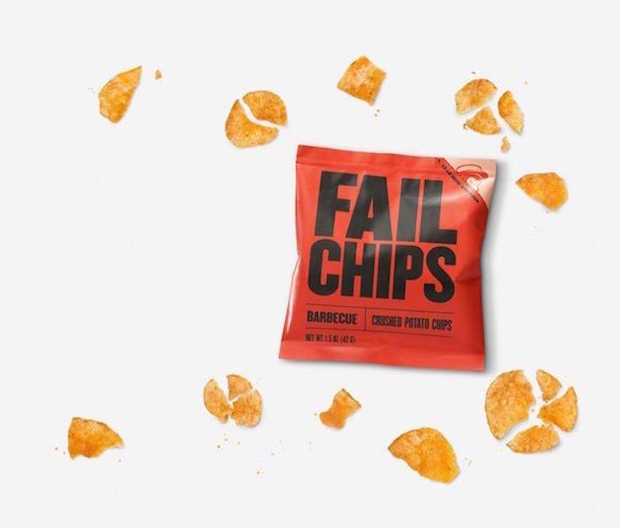 FailChips : la marque qui commercialise des chips écrasées