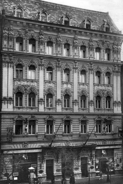 Nemzeti Szálloda 1930. - Fortepan.hu Budapest - Hungary