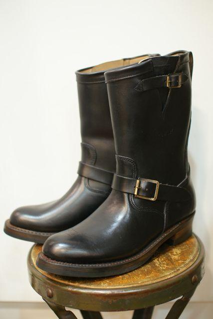 RRL engineer boots....