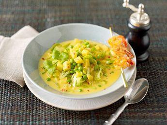 Asia Suppe mit Steckrübe