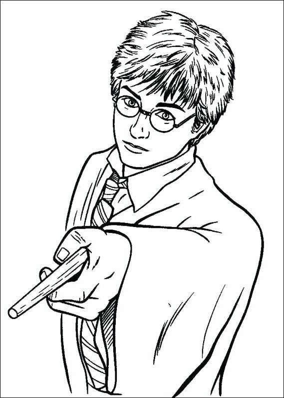 image relating to Harry Potter Printable Coloring Pages identify Harry Potter Printable Coloring Webpages MIM5 Harry Potter