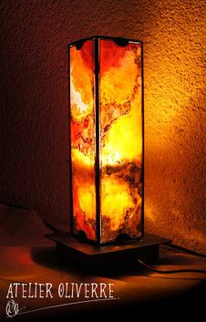 23 best Lampe vitrail images on Pinterest | Stained glass, Lamps and ...
