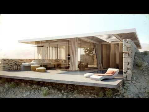 Desert Villa - Architecture Visualization - YouTube