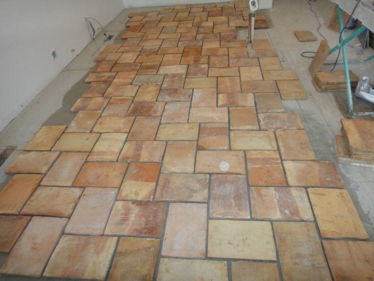 Terracotta Kitchen Tile Floors : Amazing White Kitchens With .