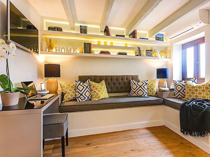 Фото из статьи: Маленькая квартира на чердаке: 20 квадратных метров, на которых…