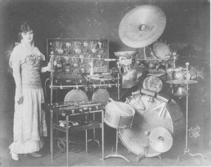 Vintage drums picture