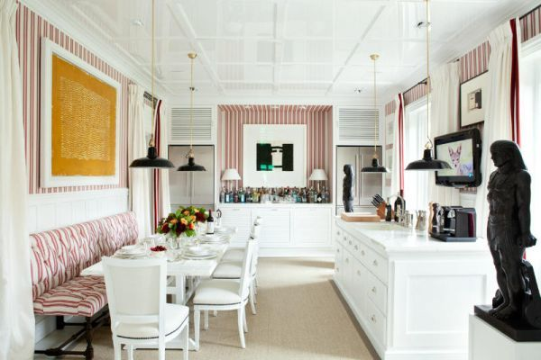 Kitchen Love!!     Luis Bustamante's stylish, symmetrical, classical and modern interiors