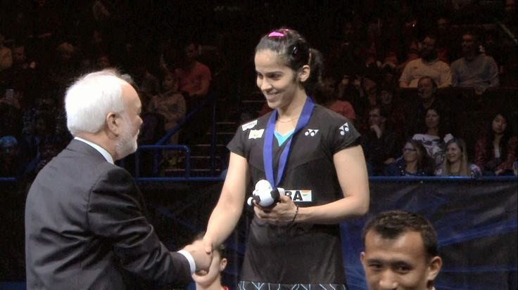 Congratulations Saina Nehwal on winning a silver at the All England Badminton Championship