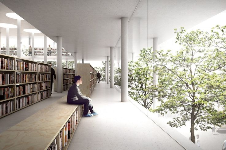 Between Books and Trees : JAJA / @ArchDaily | [...] proposal, which was awarded third prize, for a new public library in Daegu, South Korea [...] | #socialspaces