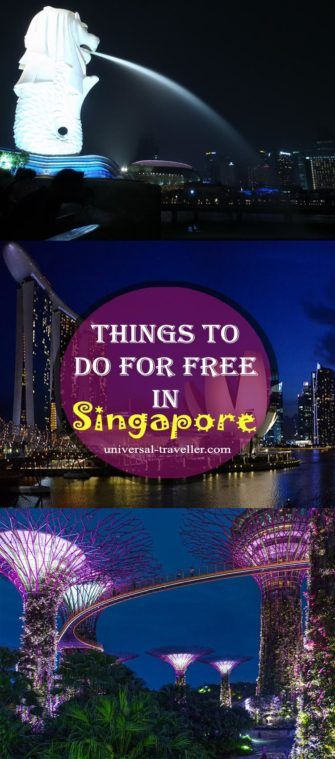 Things to do for free in Singapore. Find here Singapore points of interest and places to visit in Singapore. Plan your travel to Singapore. This Singapore guide provides tips on things to do in Singapore, what to do in Singapore, where to go in Singapore, activities in SIngapore and tourist attractions in Singapore. Find here the best things to do in Singapore and the most interesting Singapore Tours.