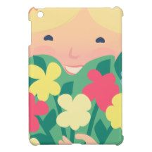 Smiling Girl iPad Mini Covers