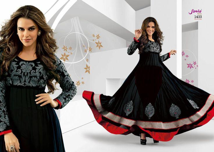 Pakistani Shalwar Kameez Indian Salwar Suit Set Long Anarkali Bollywood Designer