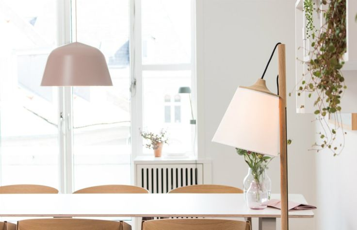 An inside view to Muuto headquarters. ambit pendant lamp, pull floor lamp, dining room inspration – Crioll Designshop