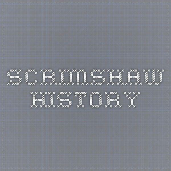 Scrimshaw History