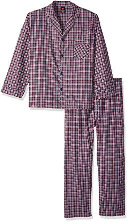 64dc423229 Hanes Men s Big Woven Plain Pajama Set