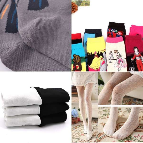 Plus Size Tights Autumn Spring Winter Stockings Thick Colors 7 Ladies 100KG For