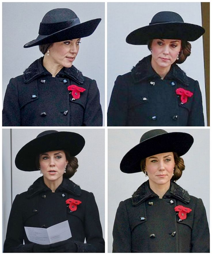 The Duchess of Cambridge at the Remembrance Sunday Service. November 13, 2016