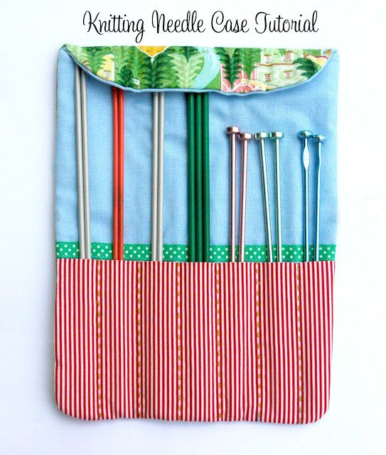 Knitting Needle Case Sewing Pattern : 1000+ images about Sewing projects on Pinterest Pin cushions, Coin purse tu...