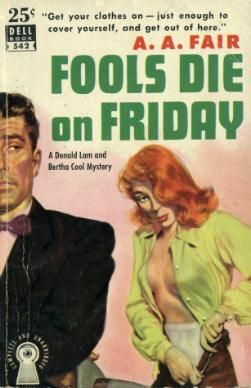 the original cover . . .: Fools Die, Fiction Artworks, Pulp Art, Books Pulp, Originals Covers, Pulp Covers, Pulp Vintage, Pulp Fiction, Fiction Covers