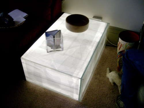 Articles en relation   Fabriquer un serre-livres design   Fabriquer une lampe japonaise   Fabriquer un mini-terrarium design   Fabriquer une lampe-bouteille   Fabriquer une lampe originale et unique