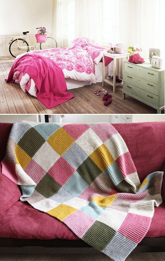 block blankets colors block knits blankets pink bedrooms patchwork