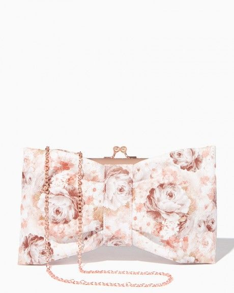 Floral Bow Clutch | Charming Charlie
