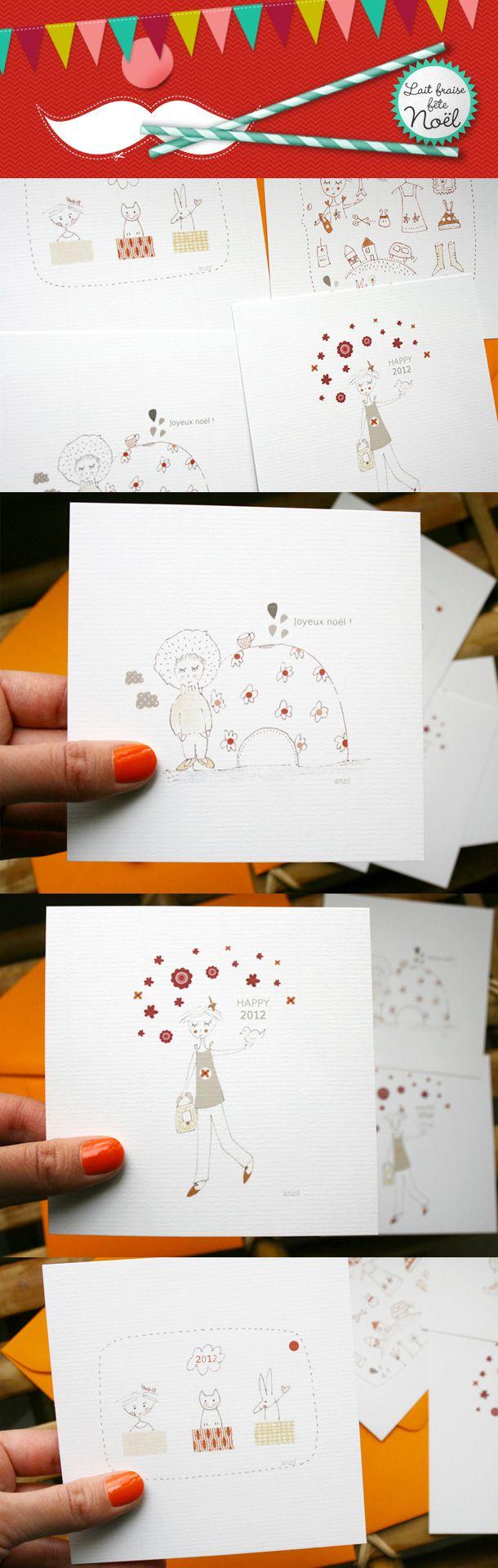 Cartes de voeux par Anzil / Greeting cards by Anzil