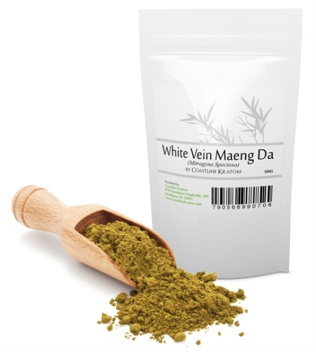 Buy White Vein Maeng Da Kratom Powder - 25g 50g 75g 100g