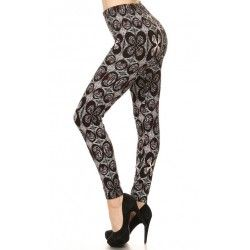 Iron Cross  leggings  Regular