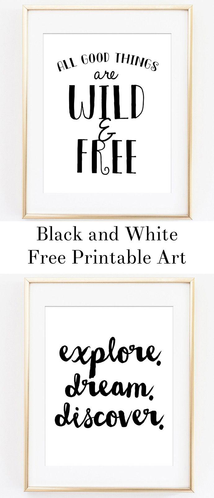 W0172 Hello Printable Black and White Playroom Print Scandinavian Nursery Art Print Bathroom Kids Wall Art Childrens Room Print