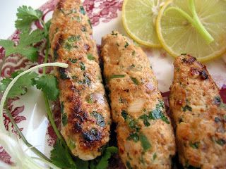 Chicken Adana Kebab.  Find a yogurt sauce to pair with it.  Grill red onions and plum tomatoes as well.  Wrap it all up in a pita for a terrific sandwich.