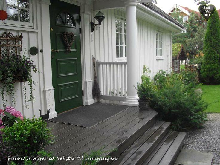Fra en hage i Norge