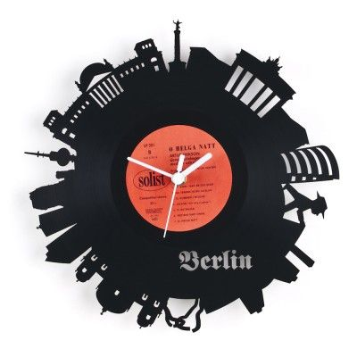 Re_Vinyl Wall Clock (52,50)