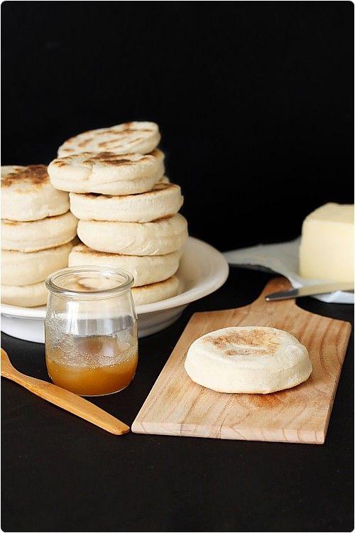 Recette de Muffins anglais.