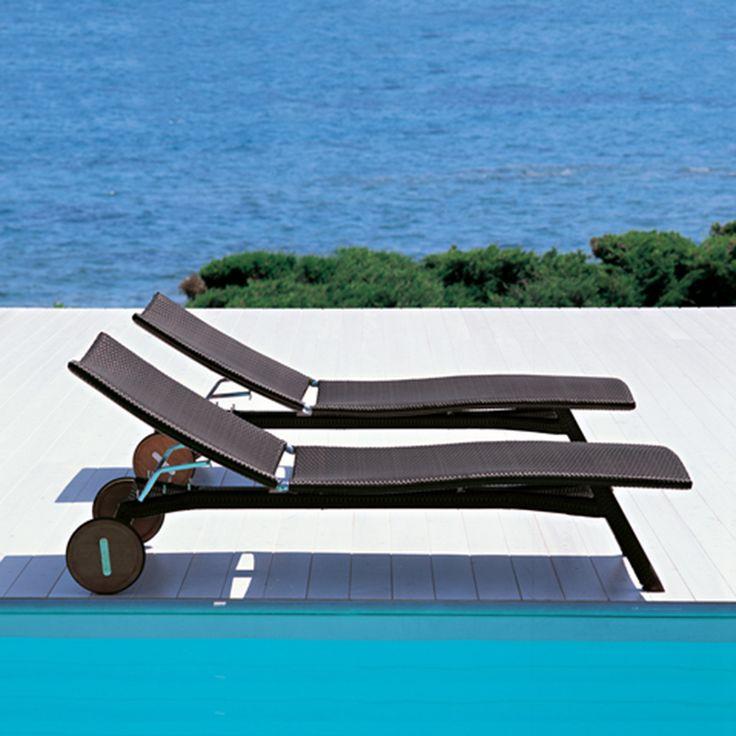 Z Weave Sun Lounger - Pool Lounger | Creative Living