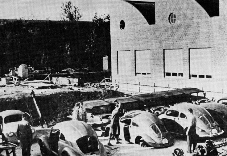 OG   1937 Volkswagen / VW Beetle   KdF-Wagen Prototype W30 under destruction