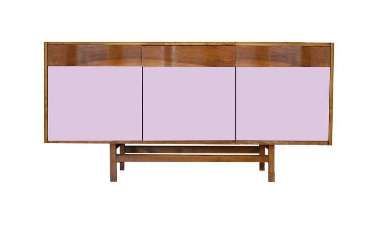 """Pastelowa komoda """"Gropius"""" Color III od New Mono Design, piękna lilia, więcej na: www.newmonodesign.pl"""