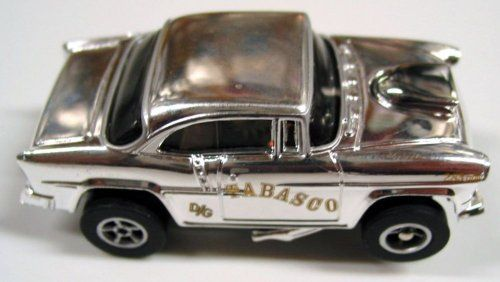 Auto World 272 1955 Chevy Bel Air Chrome Xtraction Ultra G HO Slot Car. #Auto #World #Chevy #Chrome #Xtraction #Ultra #Slot