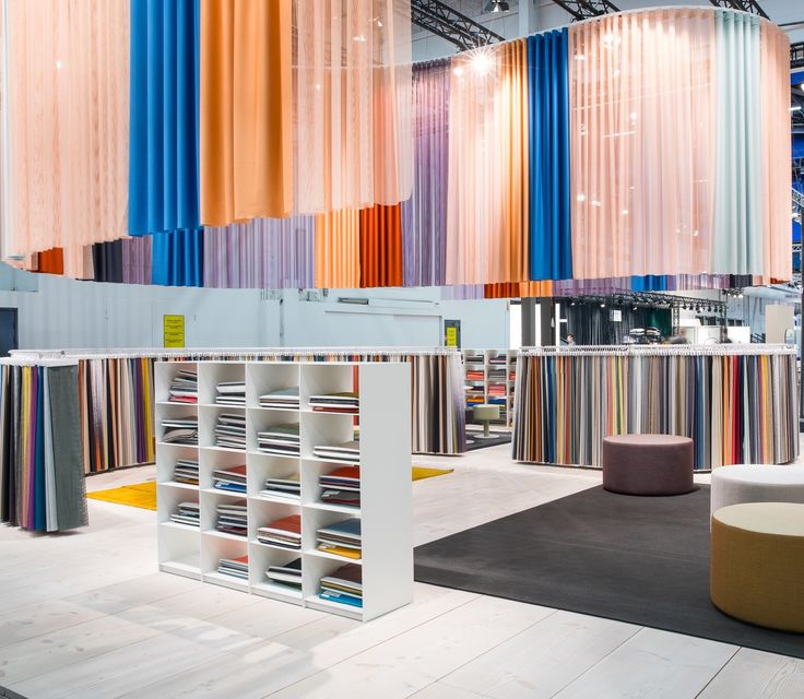Our colourful stand at Stockholm Furniture Fair