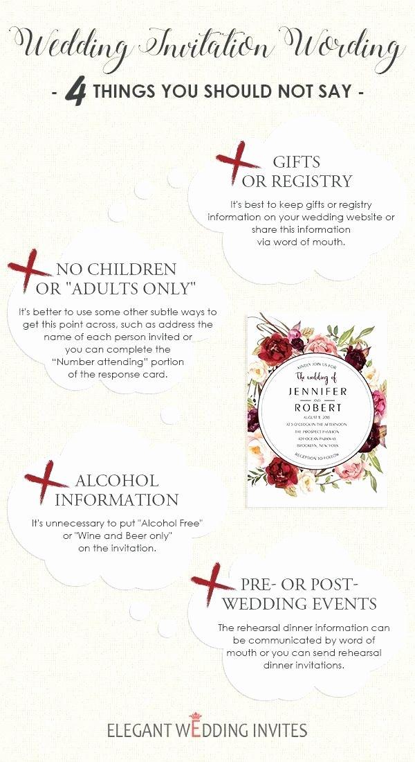 Wedding Invitation No Children Beautiful What To Say On Wedding Invitations In 2020 Wedding Invitations Invitations Wedding Invitation Templates