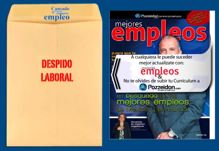 """Marketing directo: Se repartieron sobres con la frase """"Despido laboral"""" a las afueras de edificios corporativos. Dentro del sobre se colocó una revista de búsqueda de empleos."""