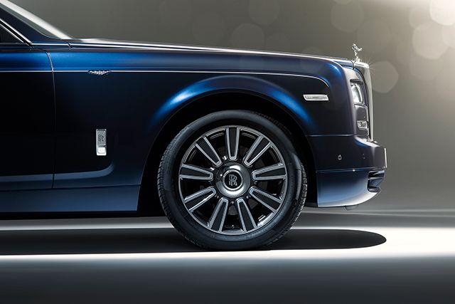 First look: the new Rolls Royce Phantom Limelight