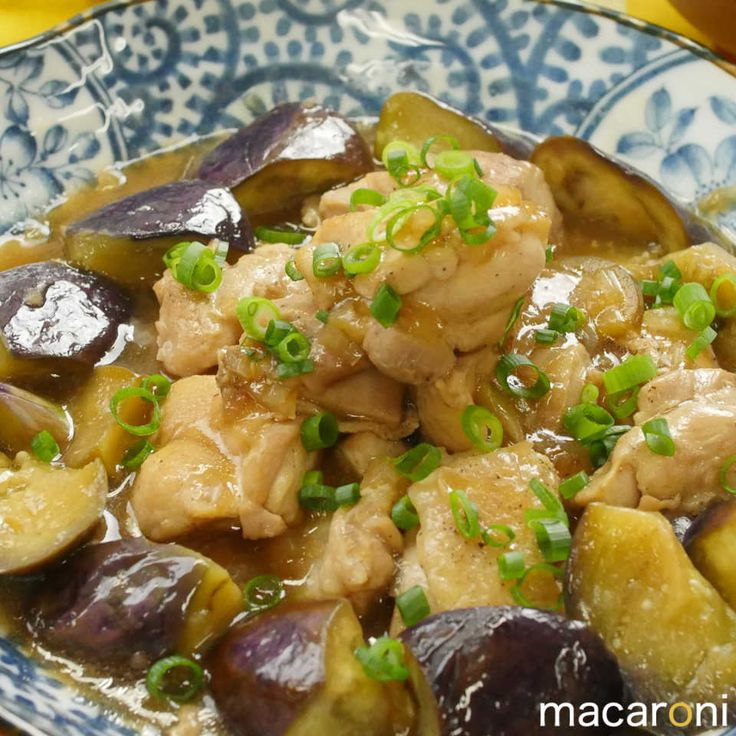 味付けコレ一本!鶏もも肉となすのポン酢炒め - macaroni
