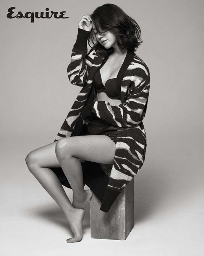 Han Groo Goes Daring For Esquire Korea's October 2014 Issue